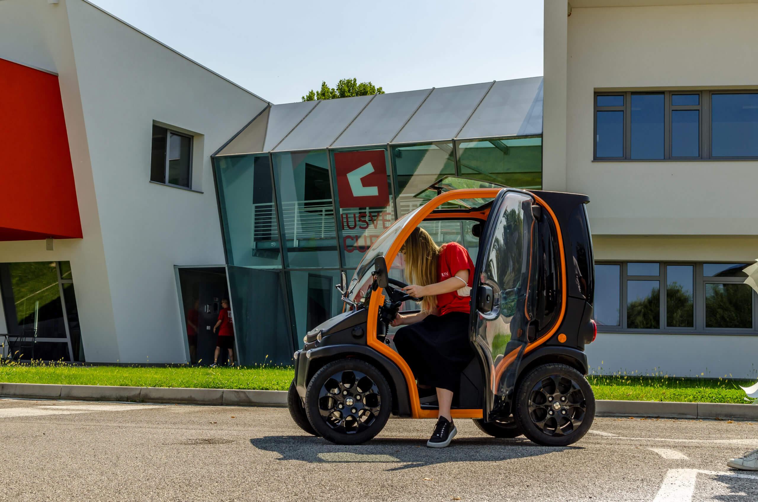 Birò x Cube Radio: mobilità green per la radio etica in movimento di IUSVE